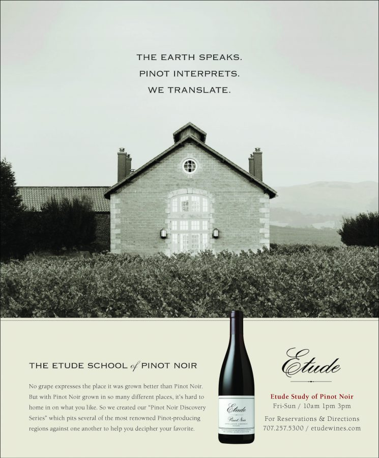 The Earth speaks. Pinot interprets. We transate.