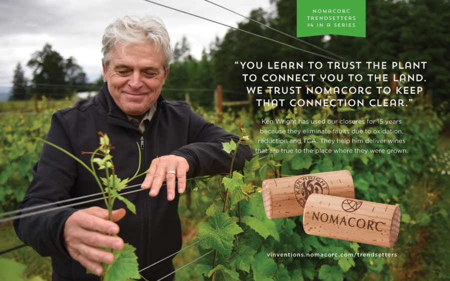 """You learn to trust the plant to connect you to the land. We trust Nomacorc to keep that connection clear."""
